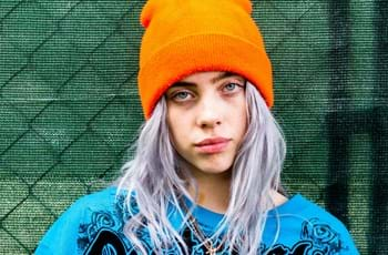 aed6c941a830f Billie Eilish signs to Next Model Management