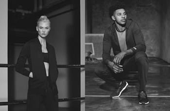 77ef7d970e34f Karlie Kloss and Nick Young front new adidas ads
